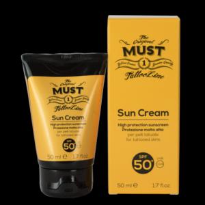 <b>Sun Cream</b><br>Protezione solare Tattoo